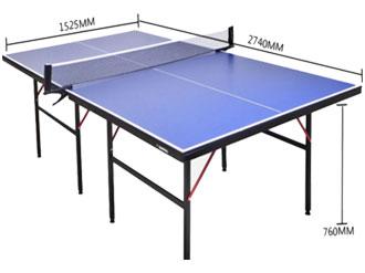 标准比赛室内乒乓球台