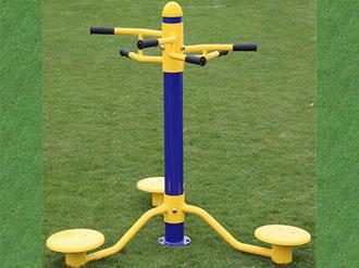 三位扭腰器-室外健身路径器材