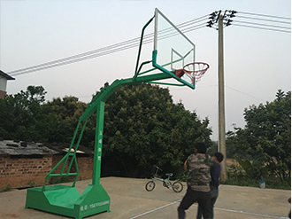 凹箱仿液压篮球架